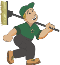 Your Window Cleaner - Logo Character